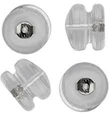 types of earring backs for pierced ears lox mega grip earring backs 2 pair pack beauty