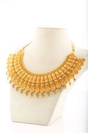 bengali gold earrings 22k gold floral necklace design floral necklace necklace