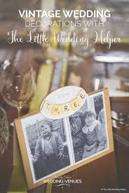 best vintage wedding decorations with the little wedding helper chwv
