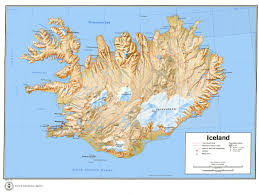 Iceland Map Location Is Map Relief 1973 Jpg