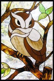 glass design owl stained glass window custom glass design