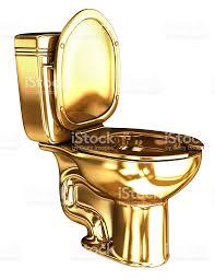 golden wc toilet stock photo 614335386 istock