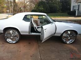 cutlass supreme 26 inch custom interior engine and paint