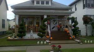 outstanding halloween outdoor decor shows incredible porch scary