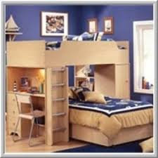 Top Bunk Bed With Desk Underneath Foter - Double top bunk bed