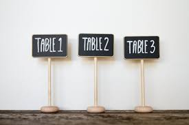 diy table number holders best wedding table number stands ideas styles ideas 2018
