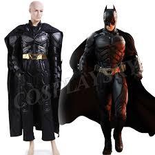 Dark Knight Halloween Costume Aliexpress Buy Batman Costume Dark Knight Arkham Asylum