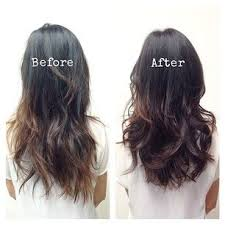 hair styles cut hair in layers and make curls or flicks 17 genius ways to make thin hair look seriously thick thin hair