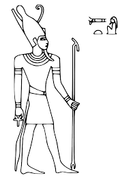 ancient egyptian coloring pages kids coloring
