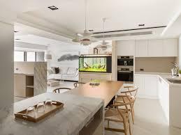 Modern Breakfast Table Interior Design Ideas - Kitchen with breakfast table
