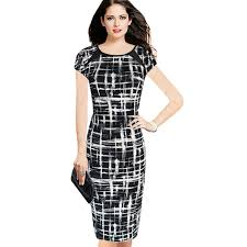 casual wear for women summer black and white dresses woman casual wear dress informal