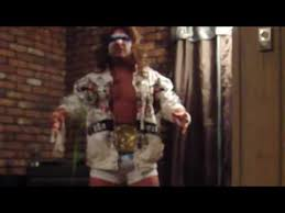 Ultimate Warrior Halloween Costume Halloween Ultimate Warrior Costume Wwf Wwe Wrestler 2009