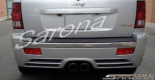jeep grand performance parts jeep grand sarona rear bumper jp 001 rb