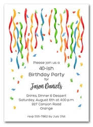 birthday party invitations men s party invitations s birthday party invitations