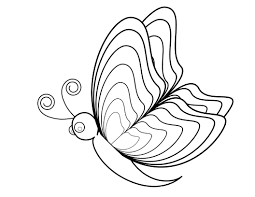 lovely printable butterfly coloring pages 46 on coloring pages for