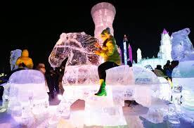 harbin snow and ice festival 2017 annual harbin ice and snow festival photos abc news