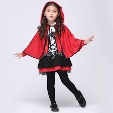 Quality Halloween Costumes Adults 2017 Anime Cosplay Halloween Costume Kids Girls Red