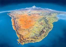 Relief Map South Africa Relief Map 1800 X 1294 Southafrica