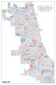 Chicago Neighborhood Maps by Every Chicago Neighborhood U2013 Joe Mills