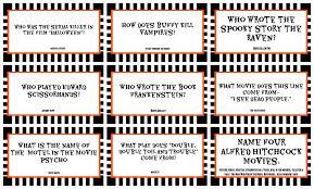 halloween printable trivia u2013 festival collections
