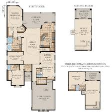 Rivergate Floor Plan by Avalon With Bonus New Homes In Palm Coast Fl