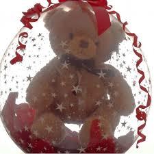teddy bears inside balloons large cuddly teddy inside a large balloon