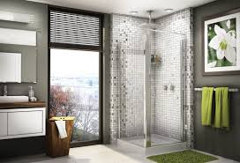 creative mosaic tiles for awesome shower area with unique look