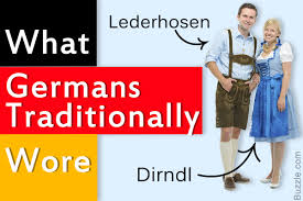 traditional german clothing that reflect its rich culture