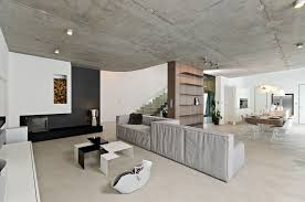 concrete interior design sophisticated concrete interiors in the czech republic by oooox