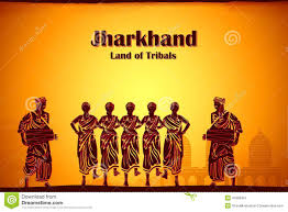 culture of jharkhand stock illustration image 41869457