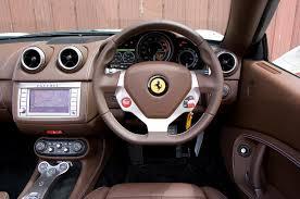 interior pictures ferrari california 2008 2014 interior autocar