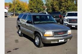2000 Gmc Jimmy Interior Used Gmc Jimmy For Sale Special Offers Edmunds