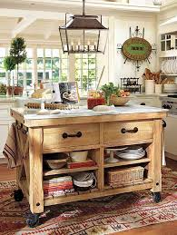 reclaimed barn wood kitchen island with wooden top rustic cart as an island pottery barn kitchen pinterest