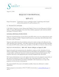 rfp cover letter sle sle rfp cover letter ending letter increment letter format