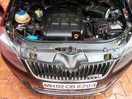modded cars engine skoda fabia diy monte carlo edition mods team bhp
