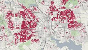 Map Of Washington Dc Neighborhoods by There Are 15 928 Vacant Buildings In Baltimore City Map