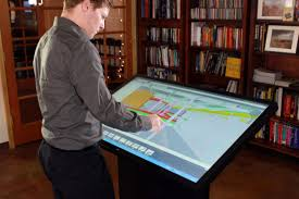Architect Drafting Table Multitouch Drafting Table For Architects Designers Ideum