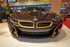 Bmw I8 Tuning - first tuned bmw i8 shows up at the essen motor show under