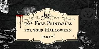 halloween party title halloween party free printables one cake a day