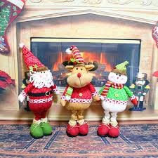 Santa Claus In Helicopter Christmas Decoration by Cute Christmas Idol Toy Santa Claus Snowman Deer Ornaments Gift