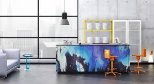 loft kitchen ideas modern patterned loft kitchen designs by neo digsdigs