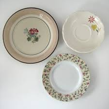 shabby cottage home decor decorative plates kitchen wall decor shabby chic cottage home