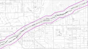 Pasadena Ca Map This Earthquake Fault In Northeast L A And Pasadena Isn U0027t Well