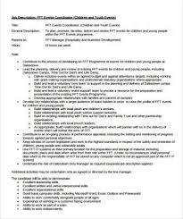 events coordinator resume safety coordinator resume coordinator resume example field