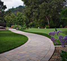 stone paver patio cost outdoor charming stone pavers walkway for contemporary park