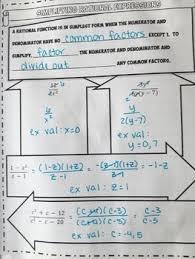 simplify rational expressions worksheet doc printables