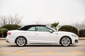 convertible audi white 2017 audi a5 cabriolet cars exclusive videos and photos updates