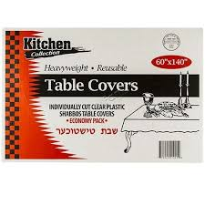 clear plastic table covers kugler s home fashions