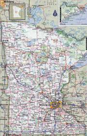 Map Of Minnesota With Cities Large Detailed Roads And Highways Map Of Minnesota State With All