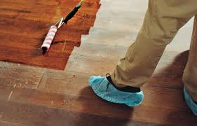 Wood Floor Refinishing Without Sanding How To Refinish Wood Floors This House